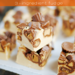 EASY PEANUT BUTTER REESES CUP FUDGE