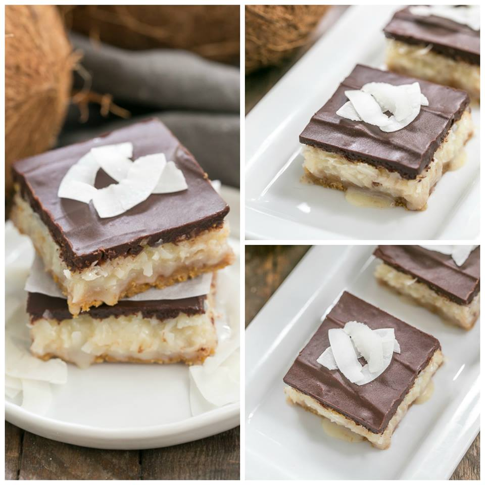 LUSCIOUS COCONUT MOUNDS BARS
