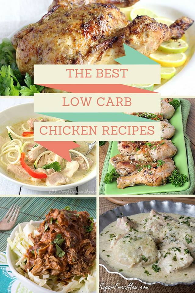 45 HEALTHY LOW CARB GLUTEN FREE CHICKEN RECIPES