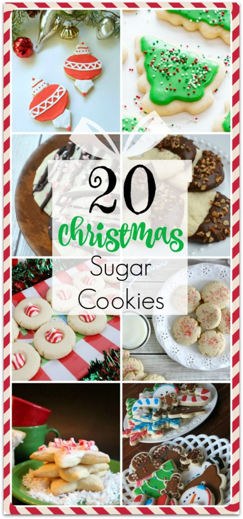 20 CHRISTMAS SUGAR COOKIES RECIPES