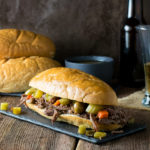CROCK POT ITALIAN BEEF SANDWICHES CHICAGO STYLE