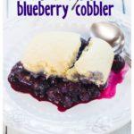 CROCK POT BLUEBERRY COBBLER