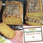 AMISH FRIENDSHIP BREAD WITH STARTER RECIPE