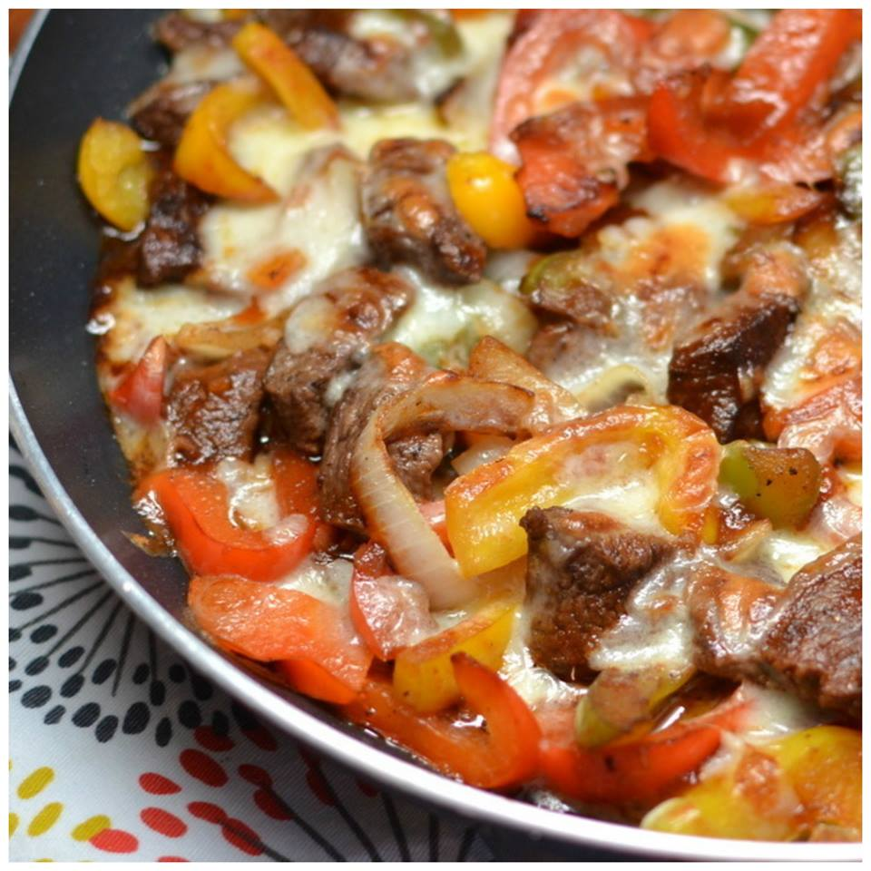 PHILLY STEAK CHEESE SKILLET
