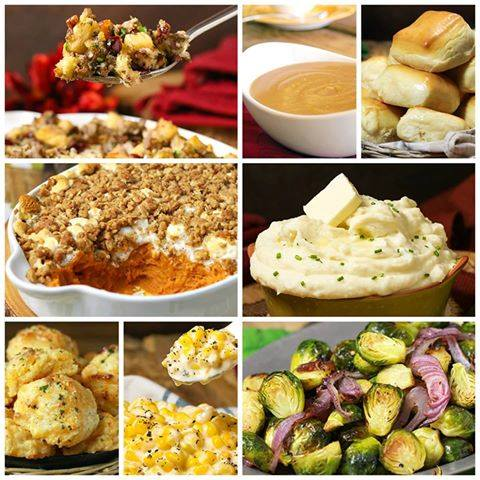 BEST EVER THANKSGIVING SIDES