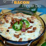 Bacon Jalapeno Popper Dip