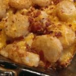 CHICKEN BACON RANCH TATER TOT CASSEROLE
