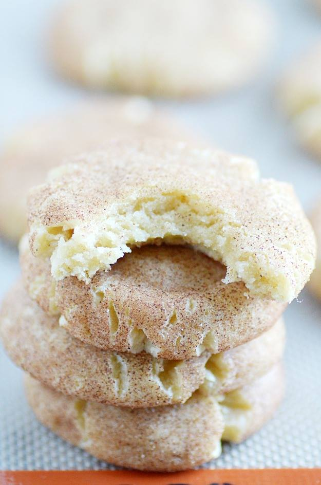 THICK & CHEWY SNICKERDOODLES