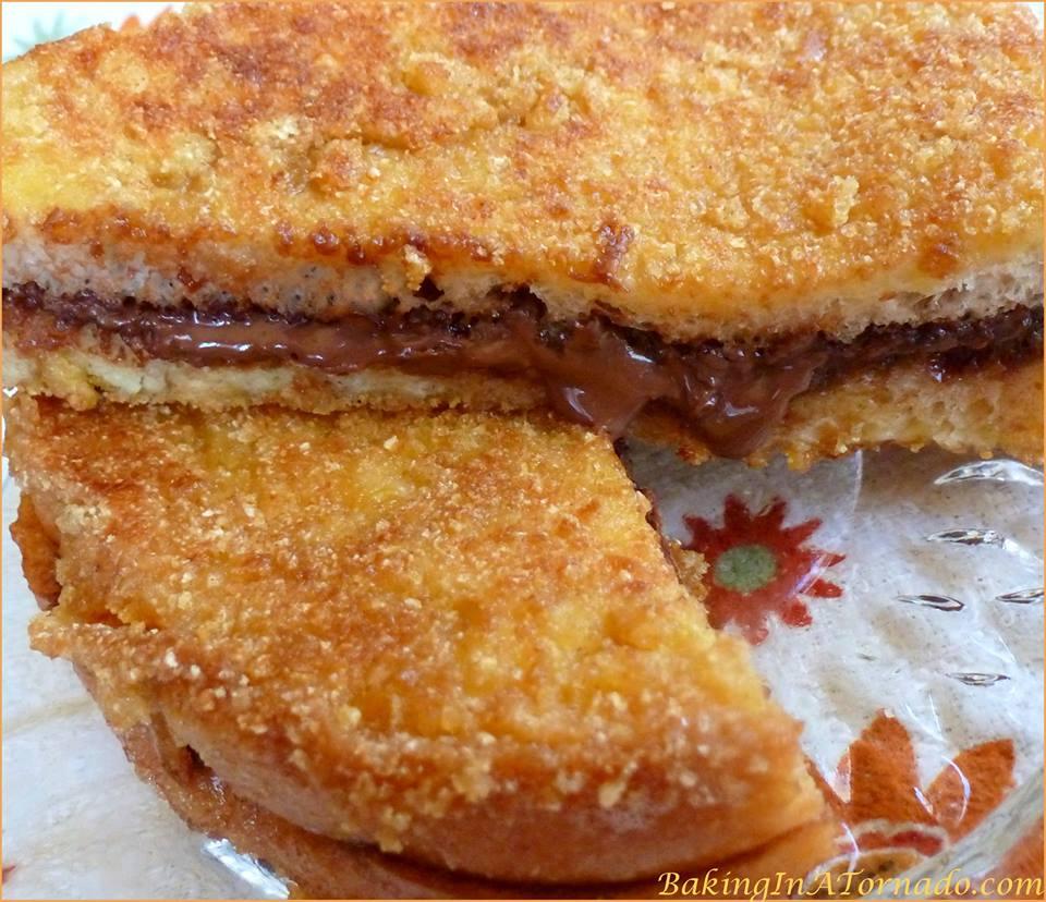GRILLED NUTELLA CRUNCH SANDWICH
