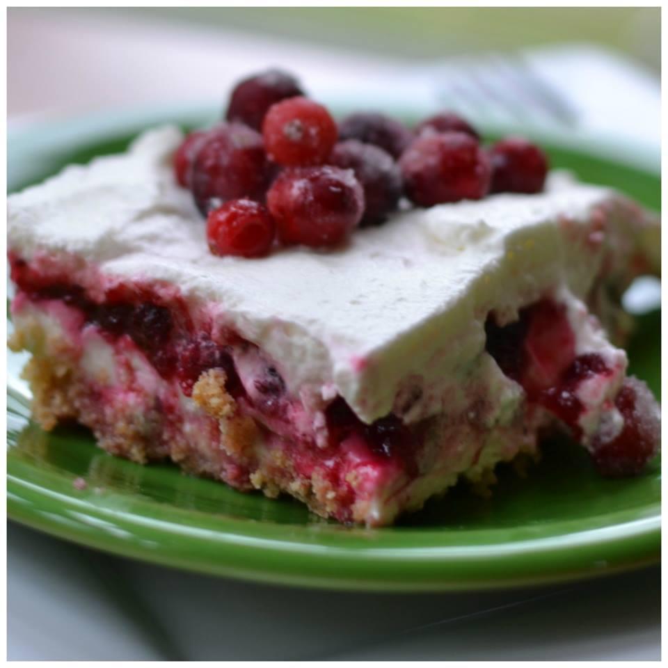 CRANBERRY LUSH CAKE