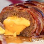 BACON DOUBLE CHEESEBURGER STUFFED MEATLOAF