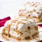 Peanut Butter and Banana Icebox Cake