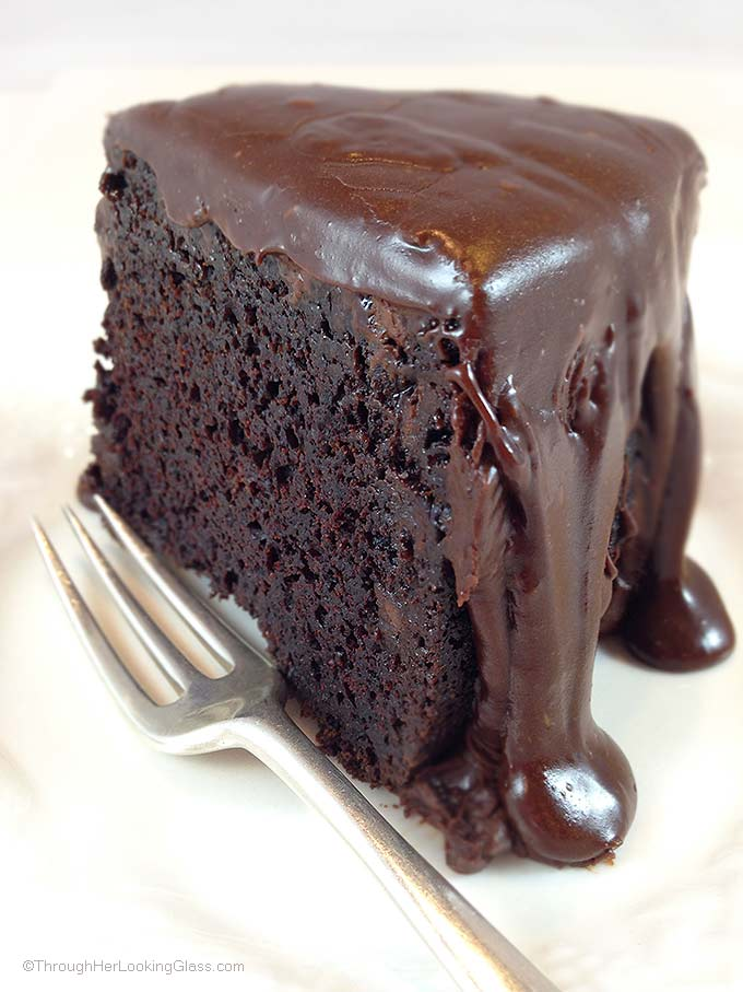 Dark Chocolate Cake Without Coffee