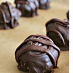SURPRISE DARK CHOCOLATE PEANUT BUTTER BALLS