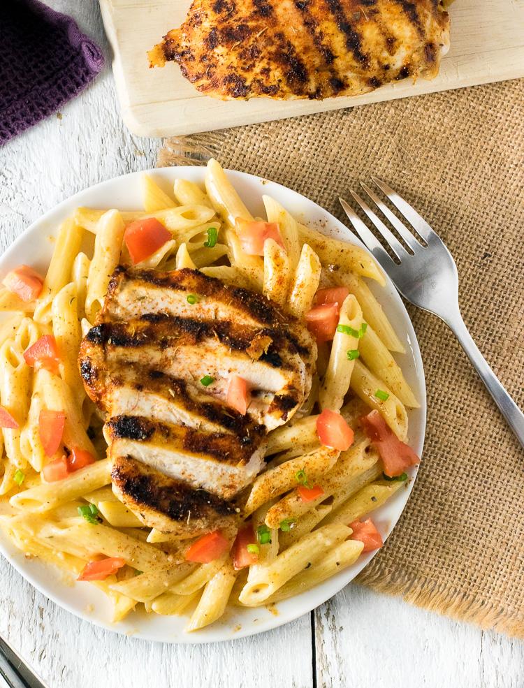chilis-cajun-chicken-pasta