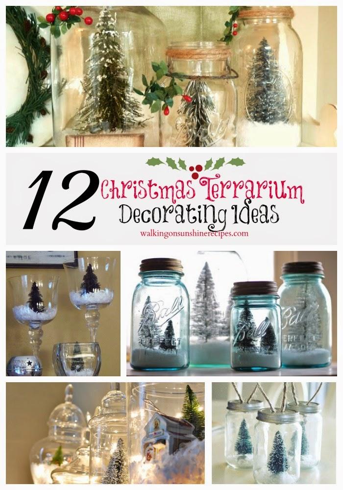 12 CHRISTMAS TERRARIUM DECORATING IDEAS