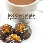 HOT CHOCOLATE PEANUT BUTTER BALLS