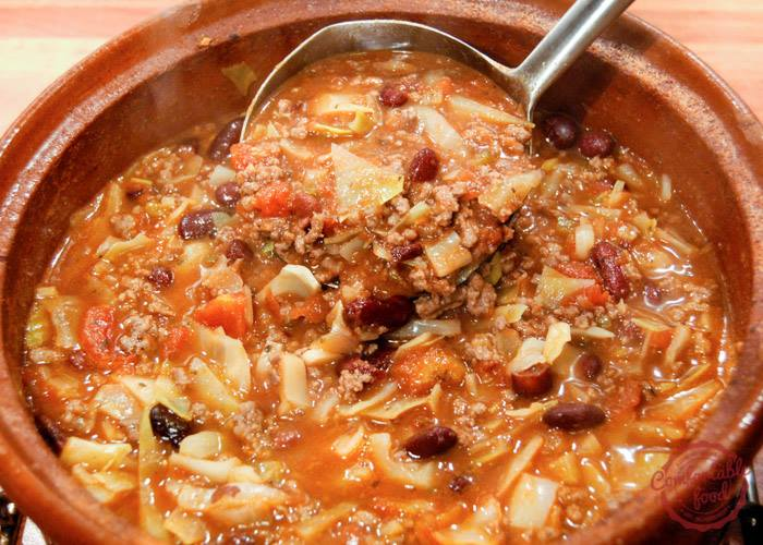 SUPER EASY BEEF CABBAGE SOUP