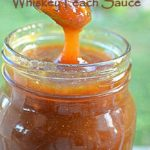 WHISKEY PEACH SAUCE