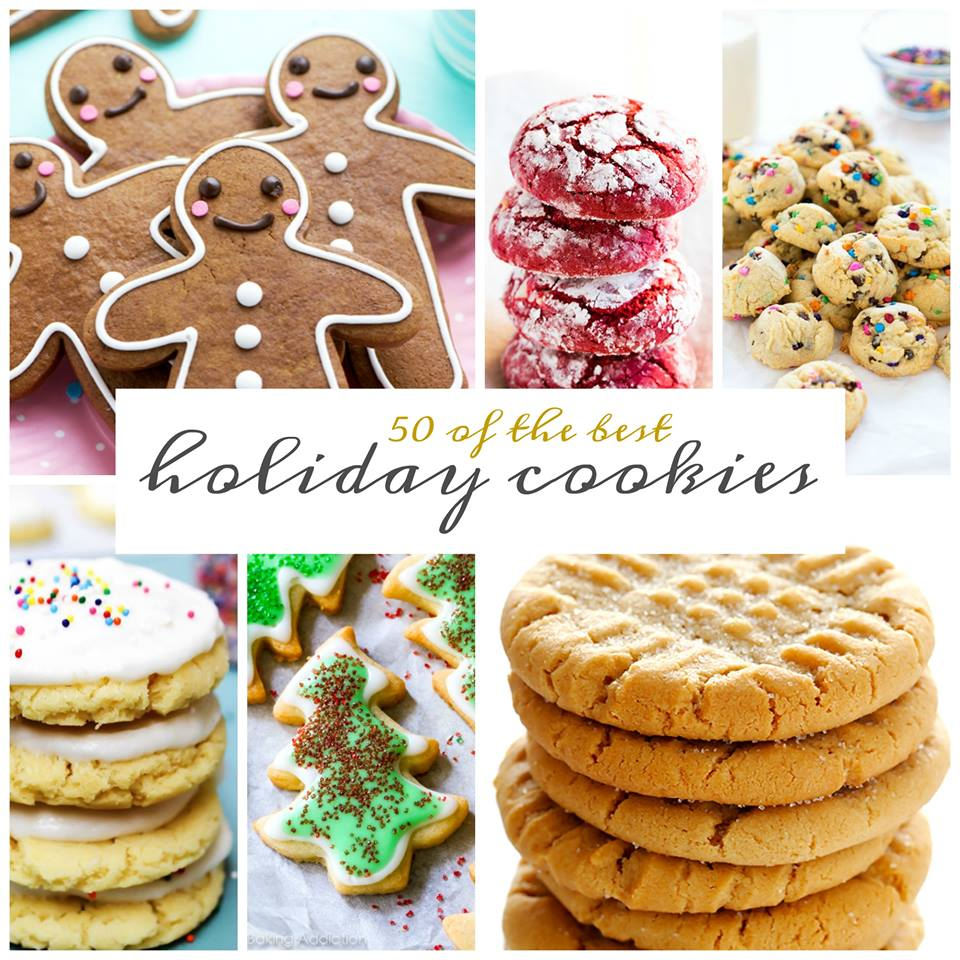 50 BEST HOLIDAY COOKIES