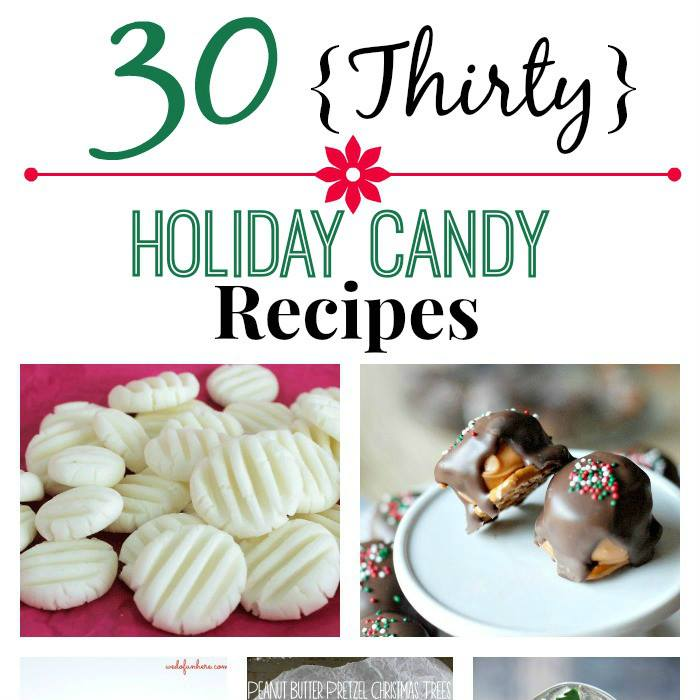 THIRTY HOLIDAY CANDY RECIPES