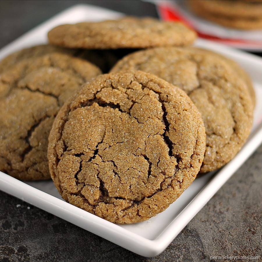 SOFT & CHEWY GINGER SNAPS