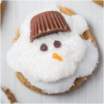 MELTED GINGER SNOWMAN COOKIES