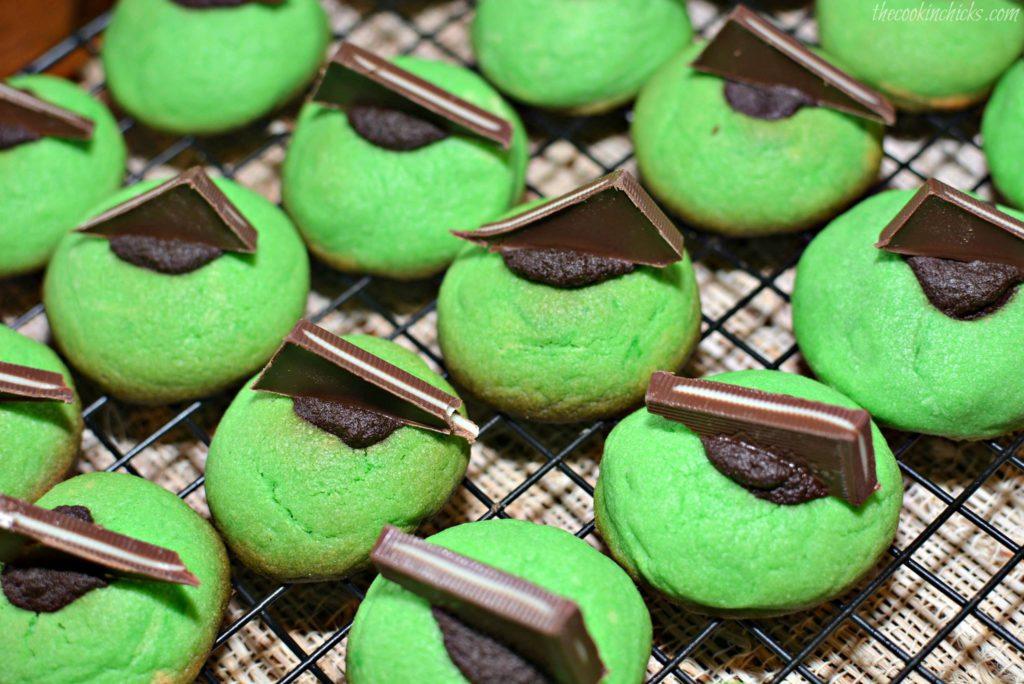 ️  CHOCOLATE MINT THUMBPRINT COOKIES