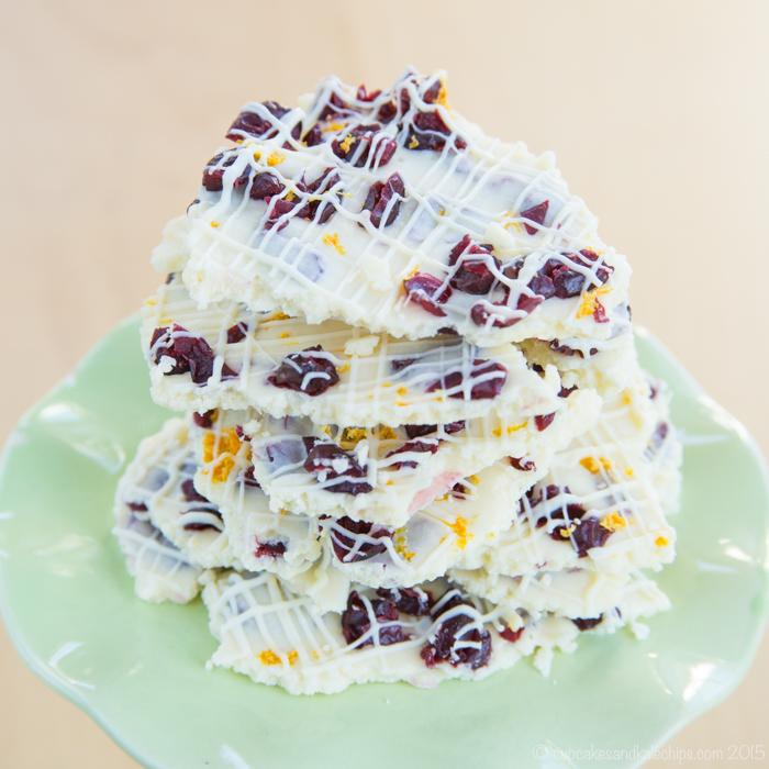 CRANBERRY BLISS WHITE CHOCOLATE BARK