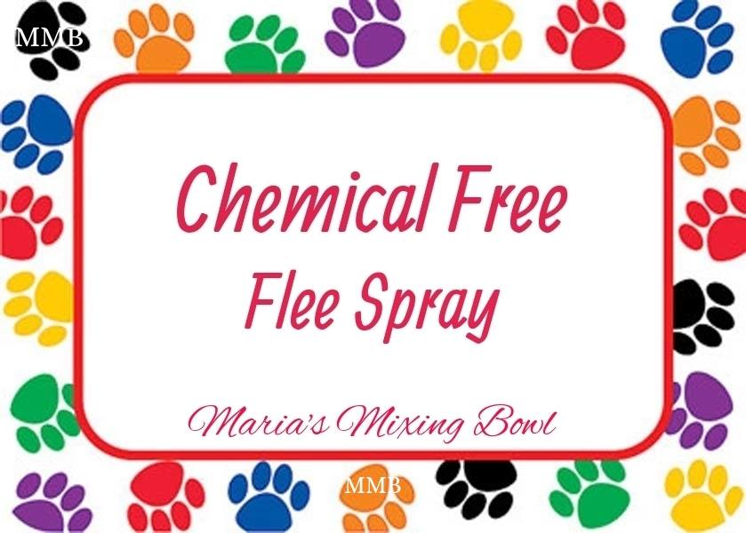 Chemical Free Flee Spray
