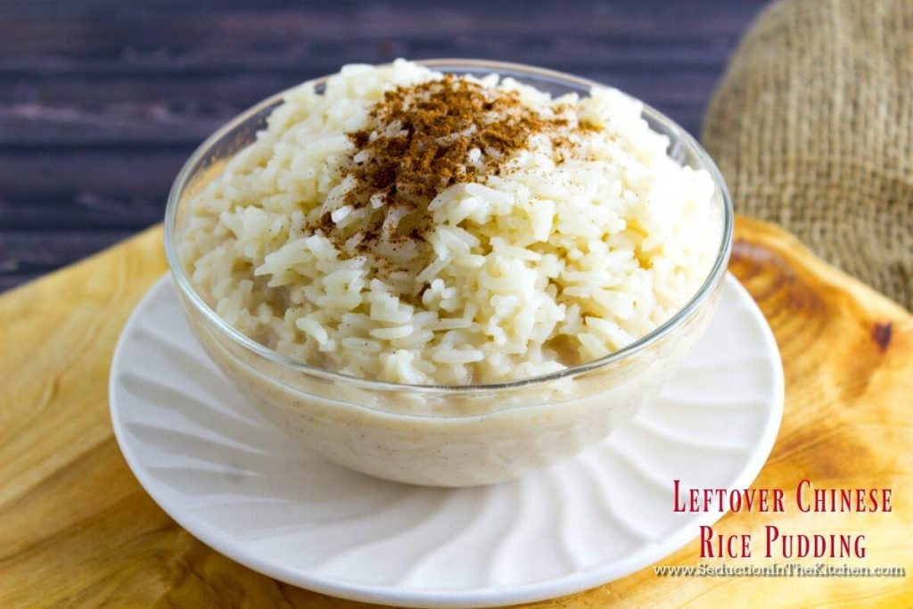 LEFTOVER CHINESE RICE PUDDING