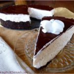 NO BAKE WHITE RUSSIAN CHEESECAKE