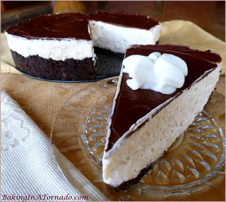 NO BAKE WHITE RUSSIAN CHEESECAKE