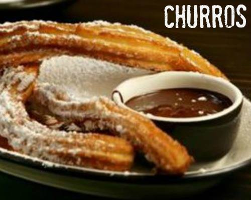 AUTHENTIC SPANISH CHURROS WITH CHOCOLATE SAUCE