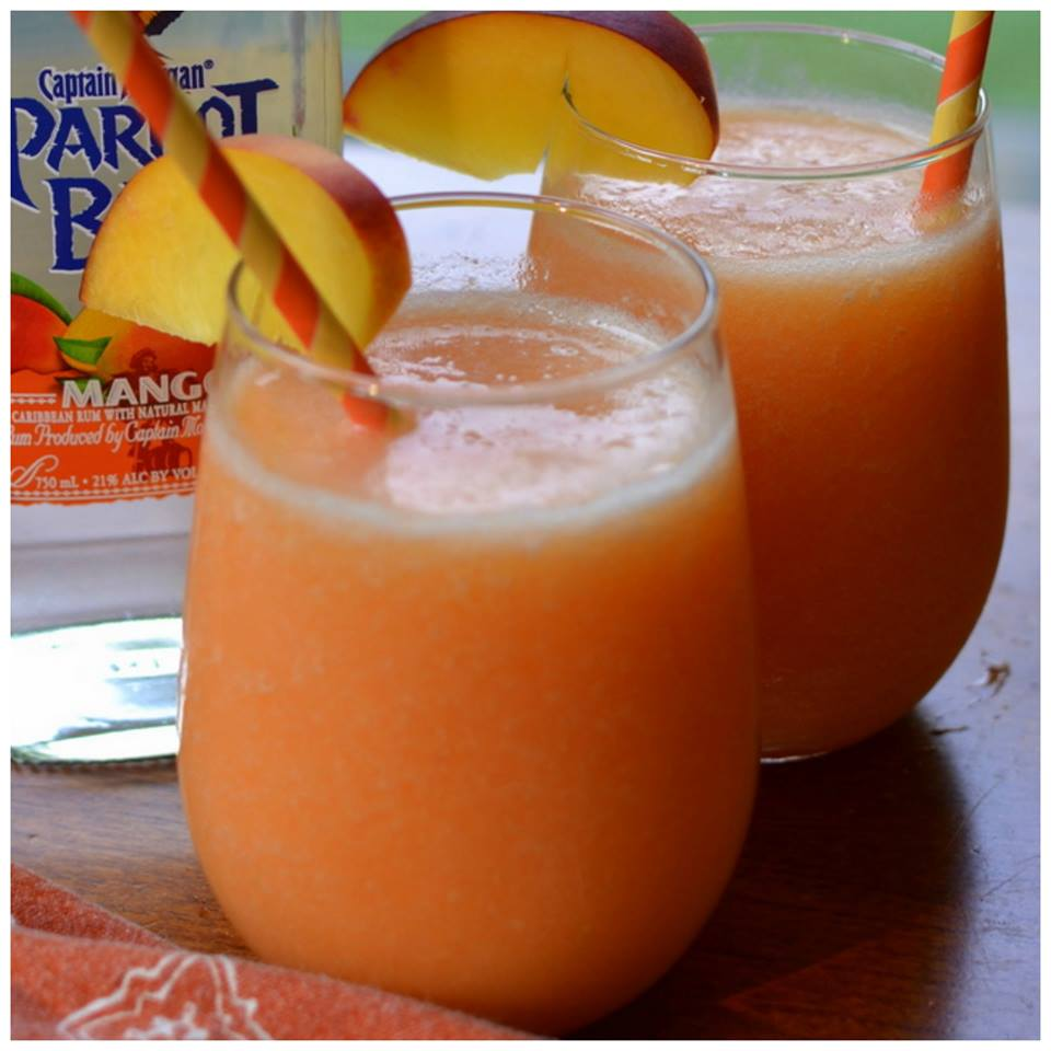 PEACH MANGO DAIQUIRIS