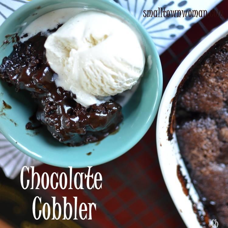 Easy Chocolate Cobbler