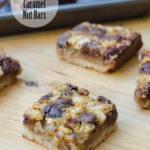 CHOCOLATE CARAMEL NUT BARS