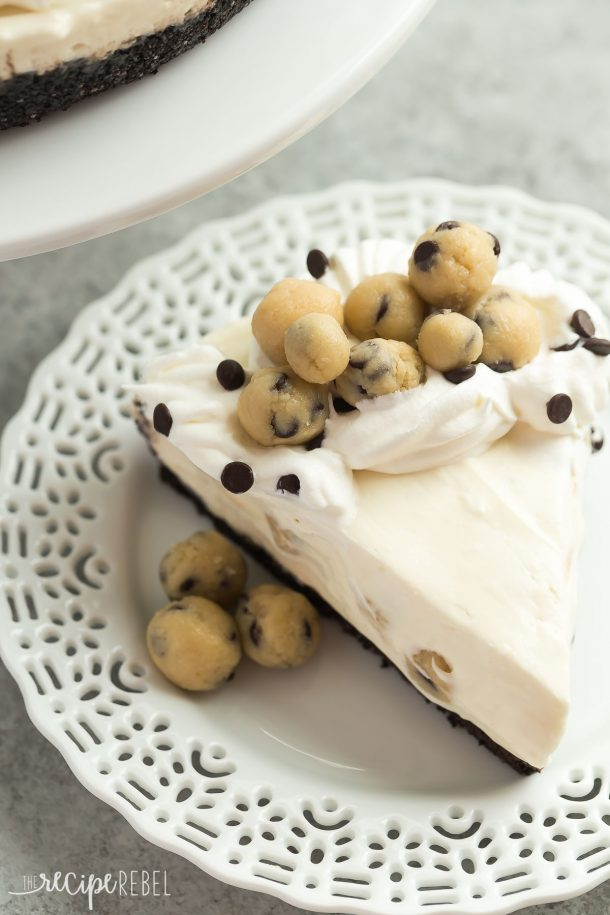 NO BAKE COOKIE DOUGH CHEESECAKE