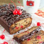 CHERRY CHOCOLATE BANANA BREAD