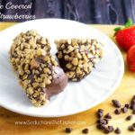CHOCOLATE COVERED SNICKERS STRAWBERRIES
