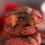 CHOCOLATE COVERED STRAWBERRY THUMBPRINTS