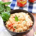 SIMPLE CAPRESE RISOTTO