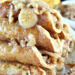 BANANA NUT FILLED PANCAKES