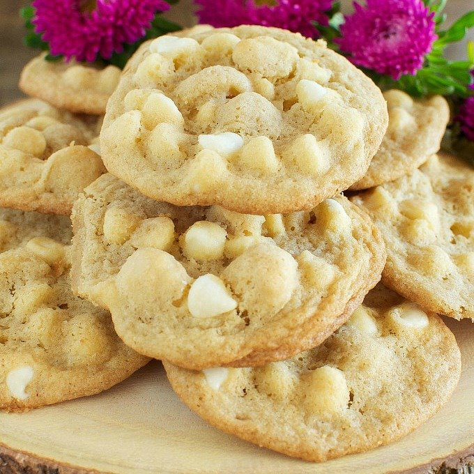 The Best Chewy White Chocolate Macadamia Nut Cookies