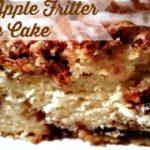 BEST APPLE FRITTER CAKE