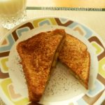 Favorite Peanut Butter and Banana French Toast