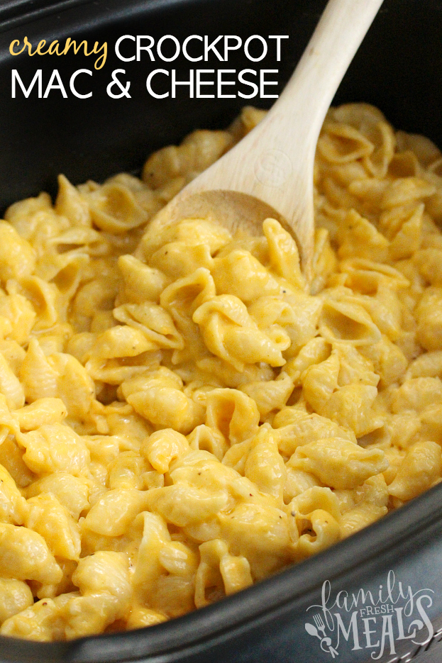 BEST CREAMY CROCKPOT MAC AND CHEESE
