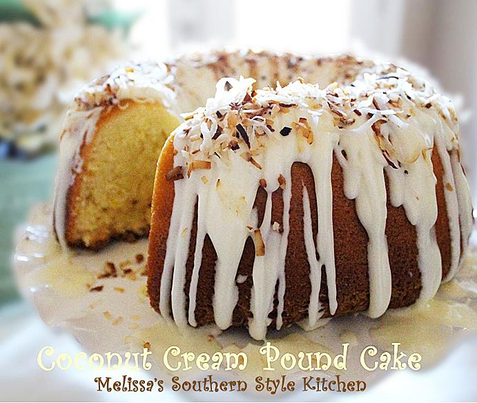 COCONUT CREAM POUND CAKE - Maria's Mixing Bowl