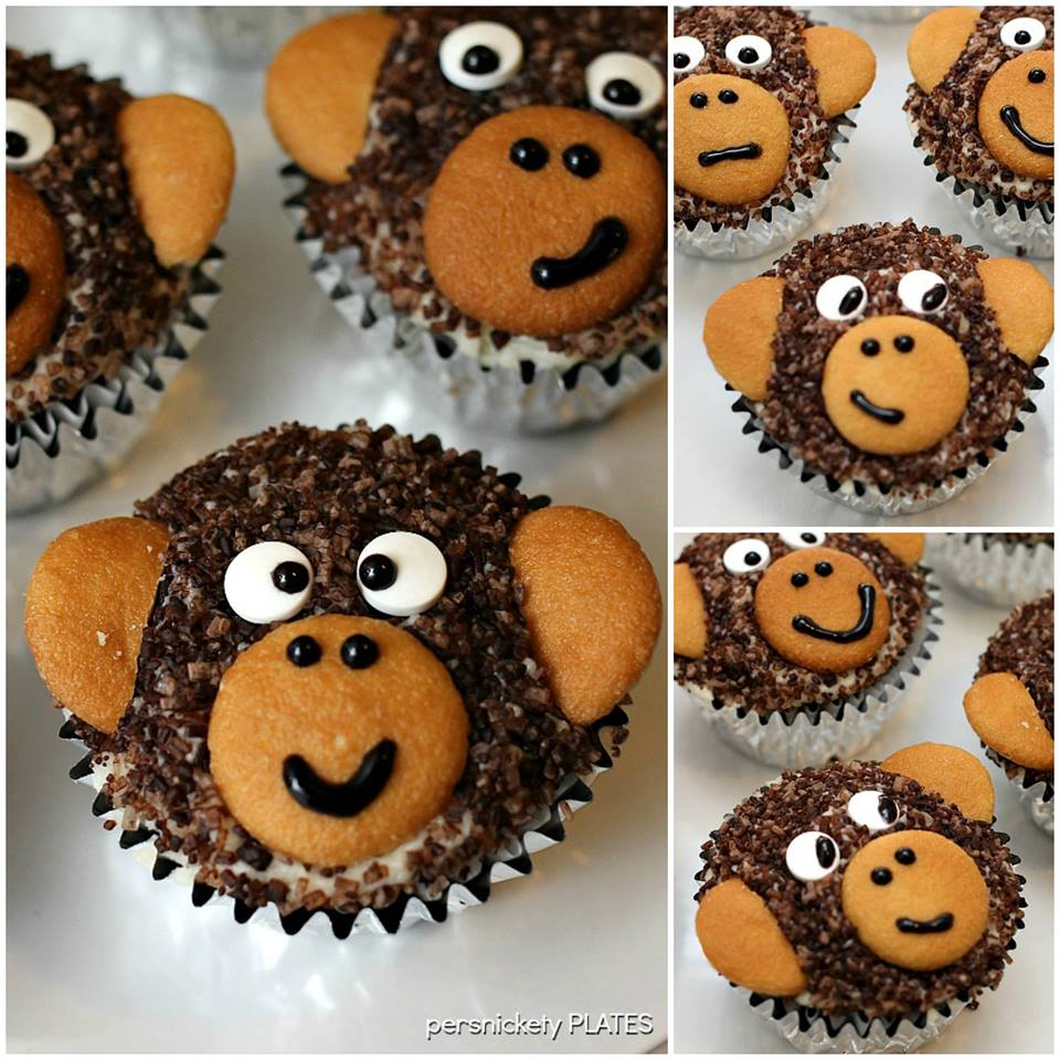 Monkey love cupcakes - photo#22