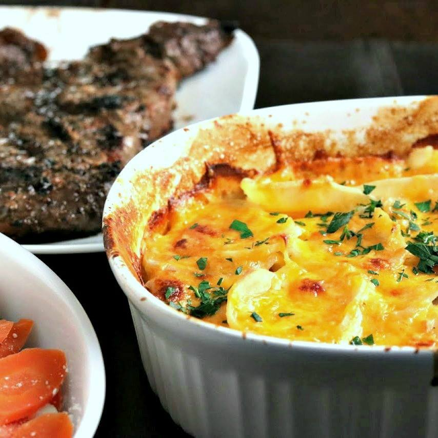 Easy Scalloped Potatoes